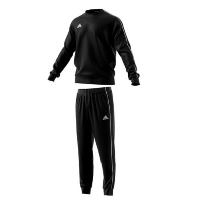adidas Performance Bequemer Sweatanzug Core 18 mit