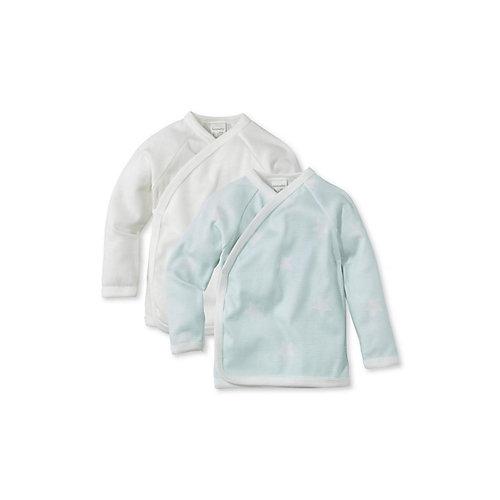 hessnatur Baby Wickelshirt aus Bio-Baumwolle 2er-Pack Gr. 62/68 jetztbilligerkaufen