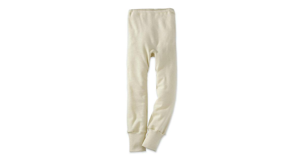 Kinder lange Unterhose aus Bio-Schurwolle Gr. 9...