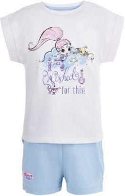 Пижама Button Blue для девочки - белый