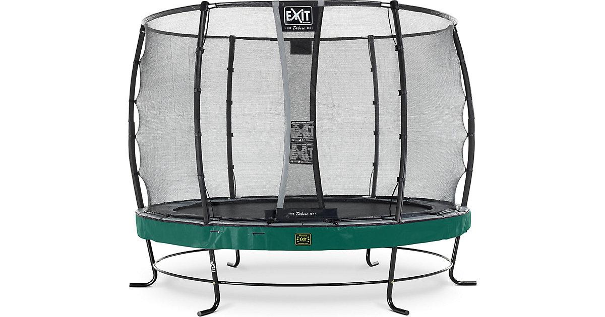 Trampolin Elegant Premium 305 cm + Sicherheitsnetz Deluxe, grün | Kinderzimmer > Spielzeuge > Trampoline | EXIT