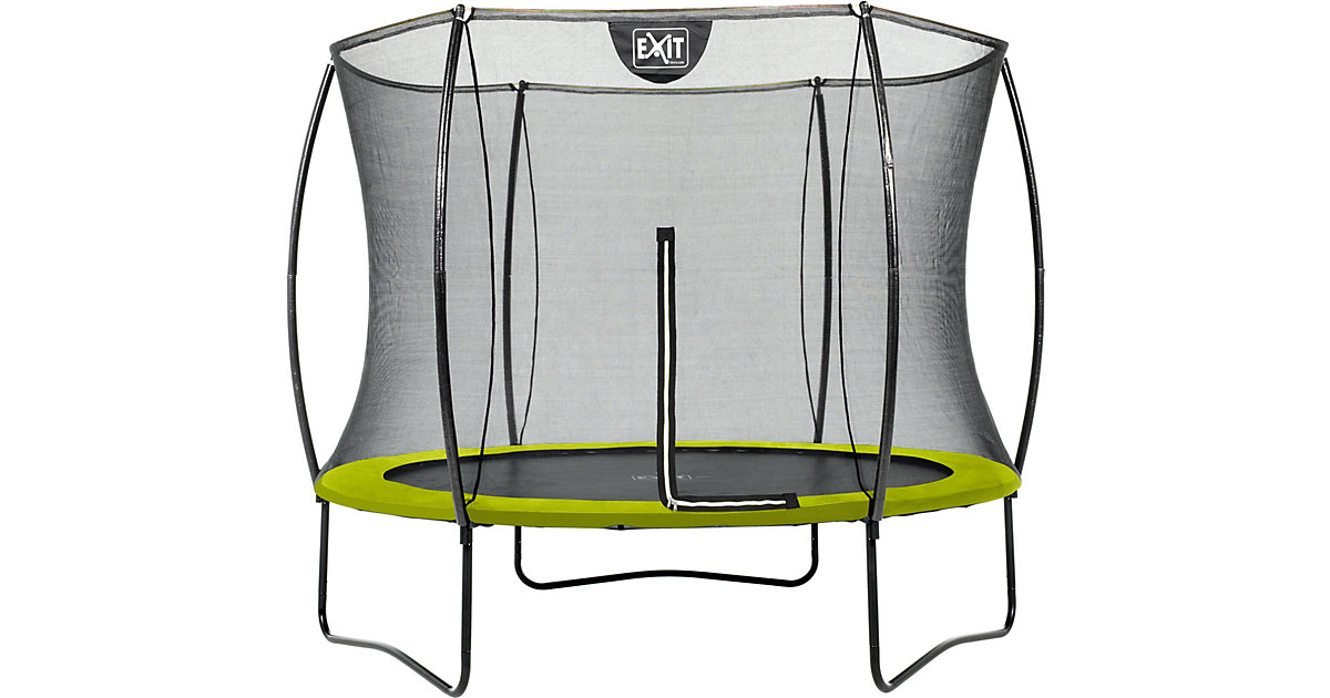 exit silhouette trampolin sicherheitsnetz 305 10ft lime gr n gartenprodukte preisvergleich. Black Bedroom Furniture Sets. Home Design Ideas
