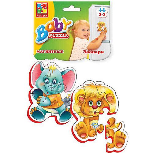 """Мягкие магнитные Baby puzzle """"Зоопарк"""" от Vladi Toys"""