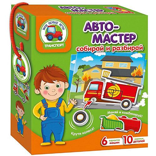"""Игра с подвижными деталями """"Автомастер"""" от Vladi Toys"""