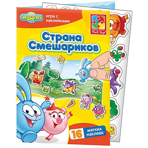 Набор с мягкими наклейками Смешарики от Vladi Toys