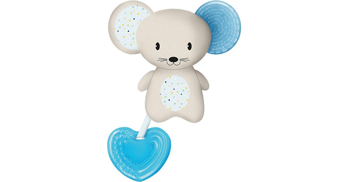 Chicco · Beißring Softtierchen Fresh Friends, mit abnehmbarem Beißring Boy, Maus, blau