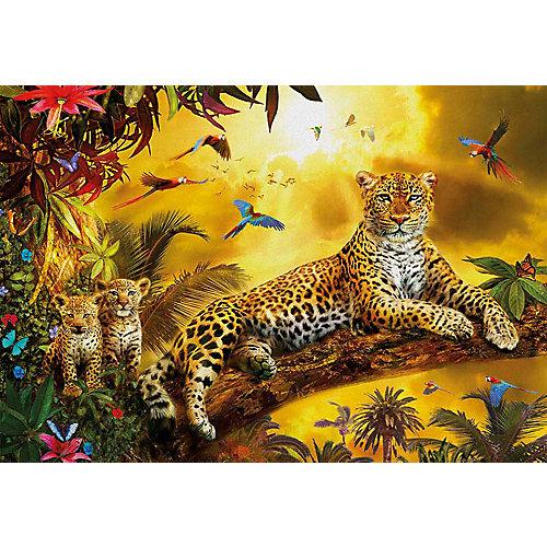 """Пазл Educa 500 деталей""""Леопард и его детеныши"""" от Educa"""