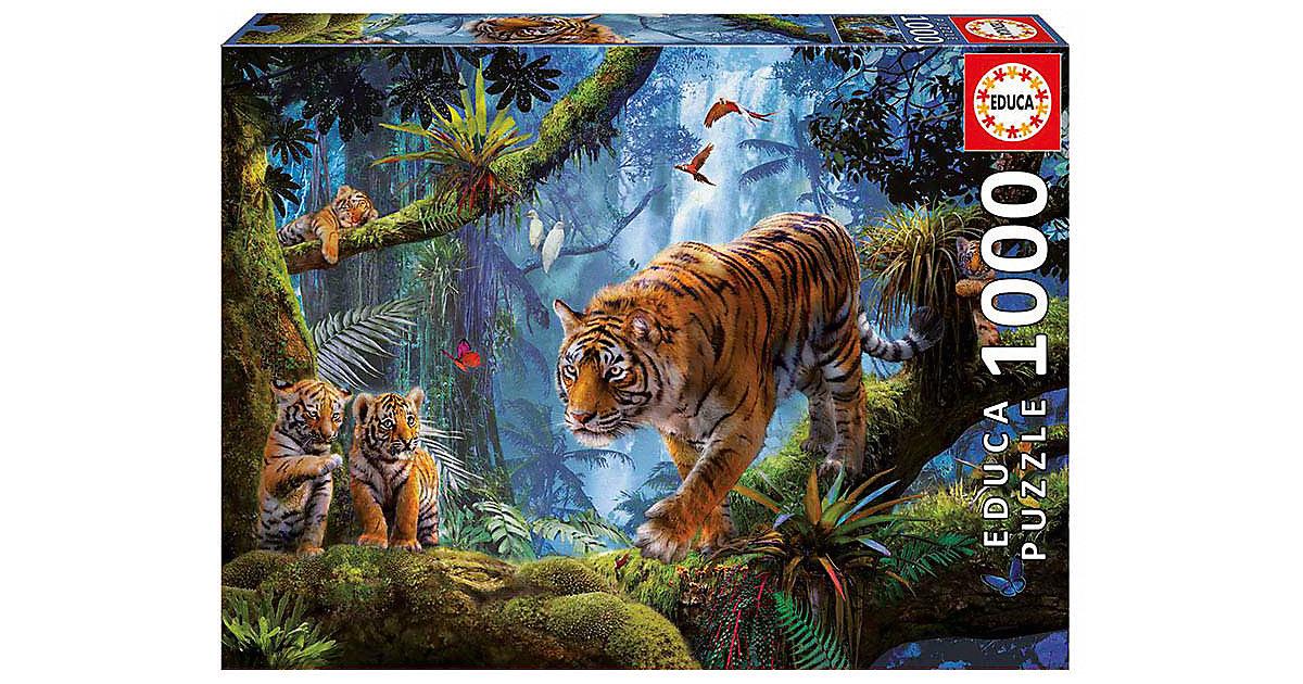 Puzzle Tiger im Baum, 1.000 Teile