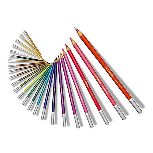 Набор цветных пастелей Stabilo Carbothello, 60 цв, металл от STABILO