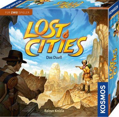 Lost Cities - Das Duell (Spiel für 2), Kosmos