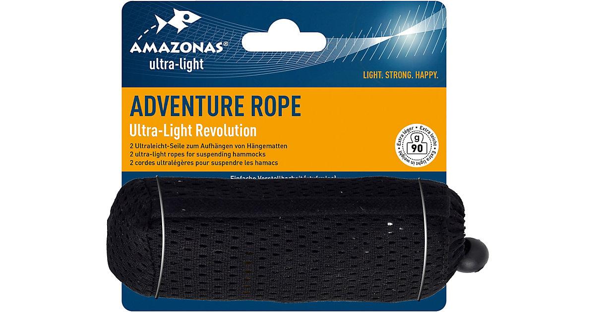 Aufhängung Adventure Rope schwarz