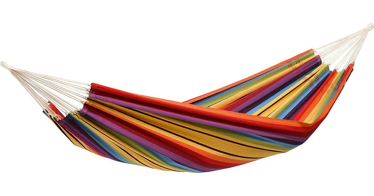 Doppelhängematte Barbados rainbow bunt