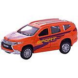 """Машина """"Mitsubishi Pajero Sport"""" 12см, металлическая, инерционная, открыв. двери."""