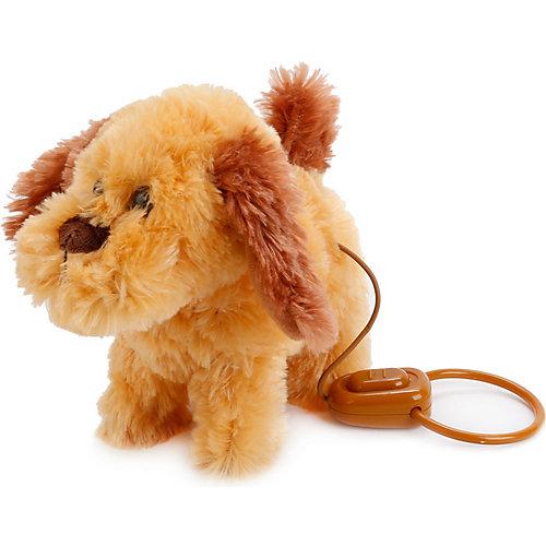 Интерактивный щенок с 4-мя функц., пульт-поводок, ходит, с музыкой. от Играем вместе