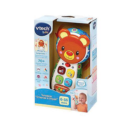 """Детский телефон Vtech """"Отвечай и играй"""" со светом и звуком от Vtech"""