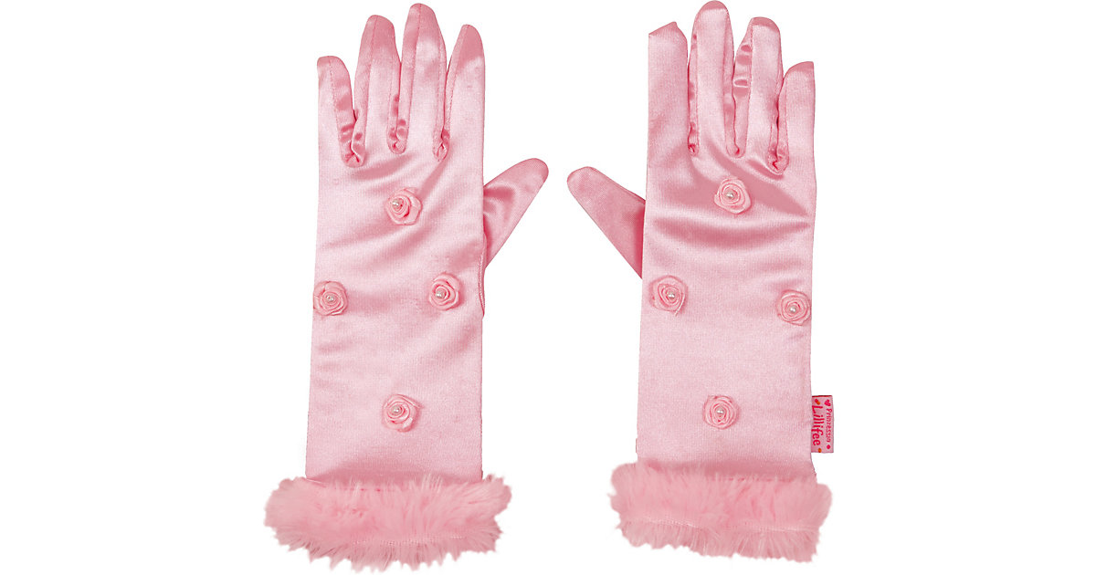 Prinzessinnen-Handschuhe Prinz. Lillifee, one size (4-6 J.) Mädchen Kinder