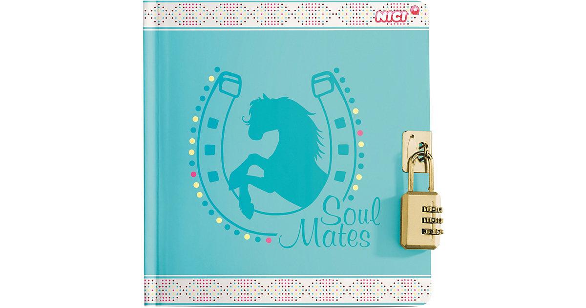 NICI · Tagebuch Soulmates mit Zahlenschloss