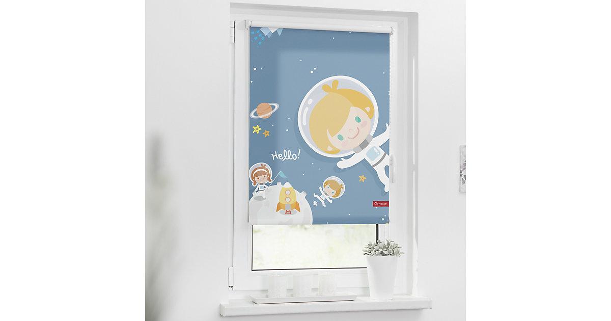 Lichtblick · Rollo Klemmfix, ohne Bohren, Verdunkelung, Astronaut Gr. 100 x 150