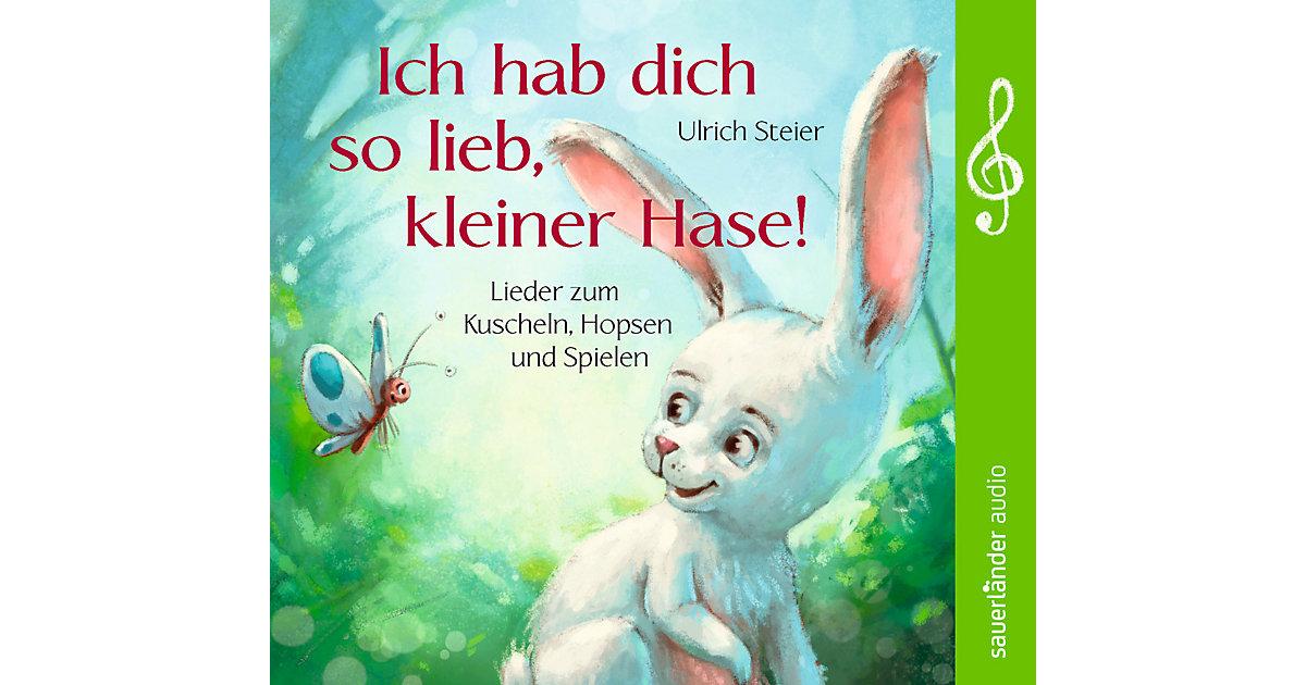 CD Ich hab dich so lieb, kleiner Hase! - Lieder...