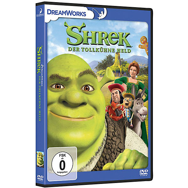 DVD Shrek - Der tollkühne Held