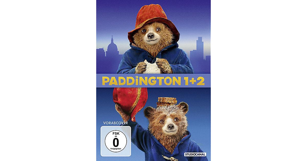 DVD Paddington 1+2 (2 DVDs) Hörbuch