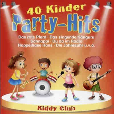 CD Kiddy Club - 40 Kinder Party Hits