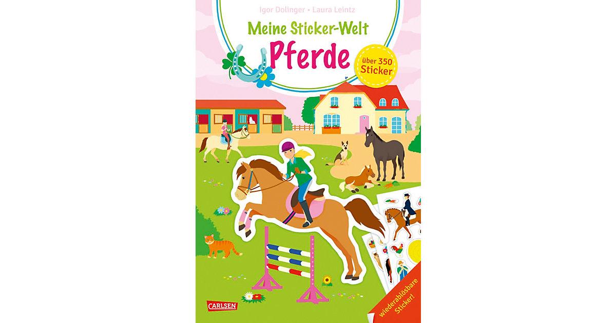 Meine Sticker-Welt: Pferde