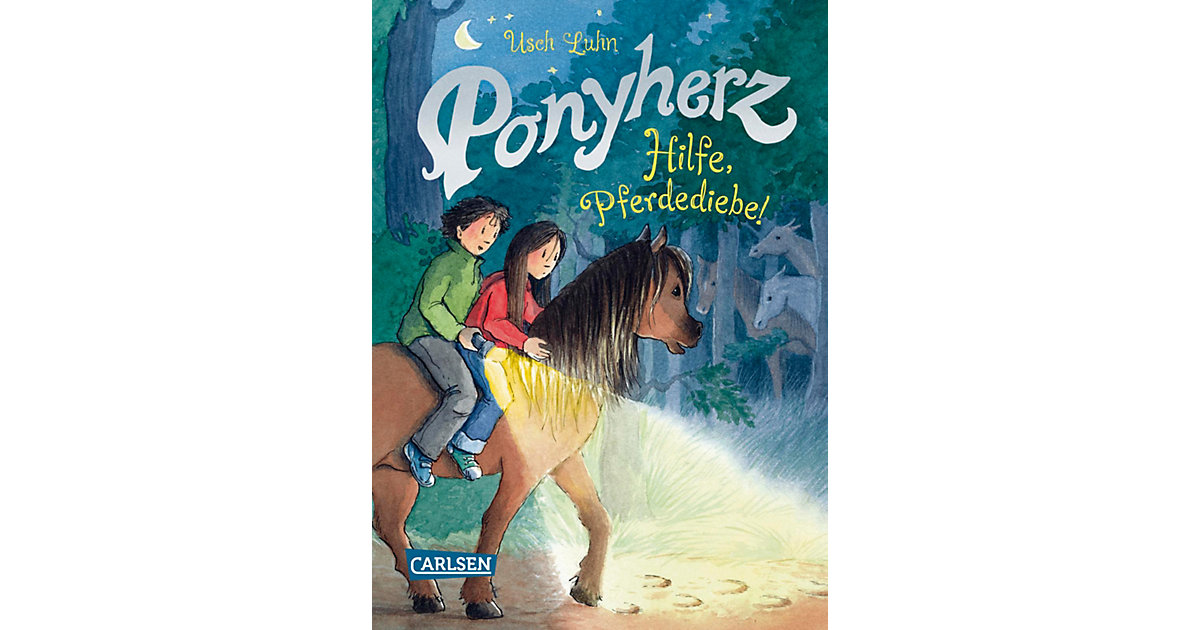 Ponyherz: Hilfe, Pferdediebe!, Band 11