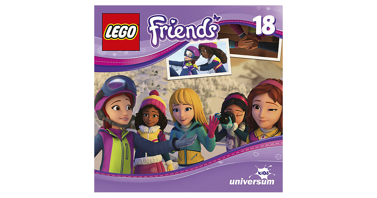 CD LEGO Friends 18 - Mias Snowboardrennen