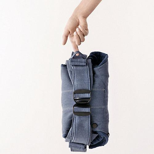 Рюкзак-кенгуру BabyBjorn One Cotton пепельно-синий деним - джинсовый от BabyBjorn