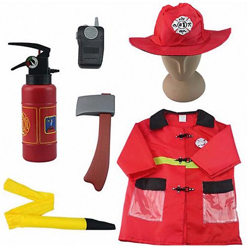 """Игровой набор Академия игр """"Важная работа"""" Форма пожарного, 7 предметов с аксессуарами от Академия игр"""