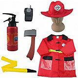 """Игровой набор Академия игр """"Важная работа"""" Форма пожарного, 7 предметов с аксессуарами"""