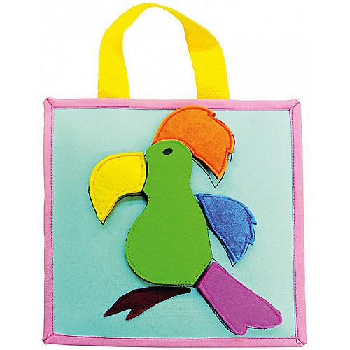 Развивающая аппликация Попугай от Santa Lucia