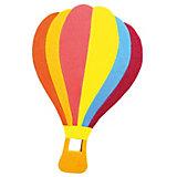 Аппликация на магнитике Воздушный шар