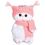 Мягкая игрушка Budi Basa Кошечка Ли-Ли Baby в шапке-сова и шарфе, 20 см