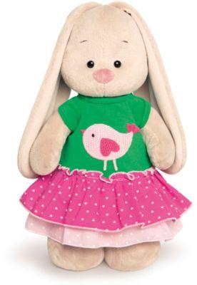 Мягкая игрушка Budi Basa Зайка Ми в толстовке с птичкой, 32 см