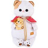 Мягкая игрушка Budi Basa Кошечка Ли-Ли с собачкой, 24 см