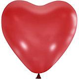 """Воздушные шары Latex Occidental """"Сердце"""" 50 шт., пастель"""