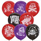 """Воздушные шары """"Пираты"""" 12""""/30 см, 50 шт"""
