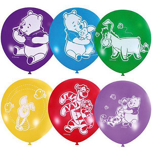 """Воздушные шары Latex Occidental """"Дисней. Винни-Пух"""" 50 шт., пастель + декоратор (шёлк) от Latex Occidental"""