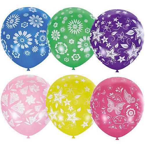"""Воздушные шары Latex Occidental """"Летнее настроение"""" 25 шт., пастель + декоратор (шёлк) от Latex Occidental"""