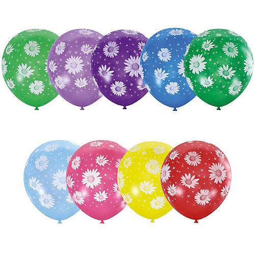 """Воздушные шары Latex Occidental """"Ромашки"""" 25 шт., пастель + декоратор от Latex Occidental"""
