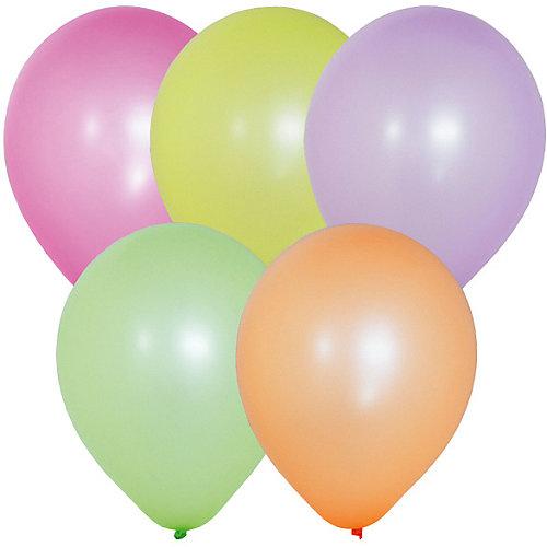 """Воздушные шары """"Флуоресцентные"""" 100 шт, 10""""/25 см от Latex Occidental"""