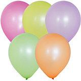 """Воздушные шары """"Флуоресцентные"""" 100 шт, 10""""/25 см"""
