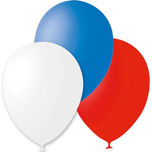 """Воздушные шары Latex Occidental """"Триколор"""" 30 шт., пастель от Latex Occidental"""