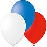 """Воздушные шары Latex Occidental """"Триколор"""" 30 шт., пастель"""