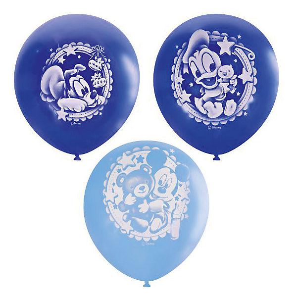 """Воздушные шары Latex Occidental """"Дисней. Малыш"""" 25 шт., пастель + декоратор"""
