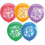 """Воздушные шары Latex Occidental """"Марвел. Мстители"""" 50 шт., пастель + декоратор"""