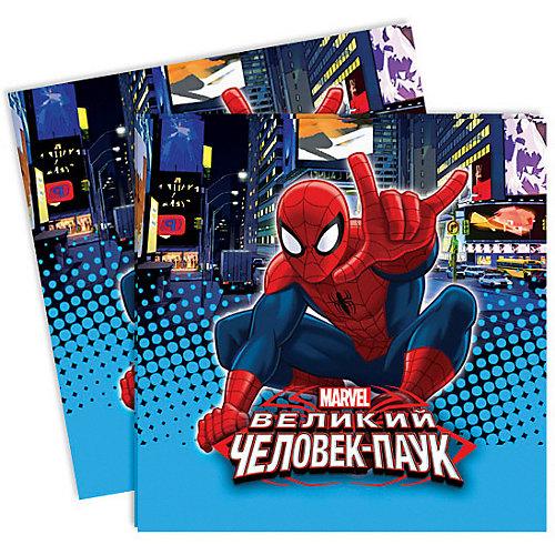 """Салфетки Патибум """"Человек-паук"""" 12 шт., 33х33 см от Патибум"""