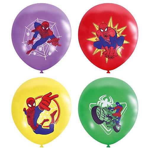 """Воздушные шары Latex Occidental """"Марвел. Человек-паук"""" 25 шт., пастель + декоратор (шёлк) от Latex Occidental"""